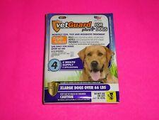 VetGuard Plus 4 Month Flea Tick & Mosquito Treatment Drops Xlarge Dog Over 66 Lb