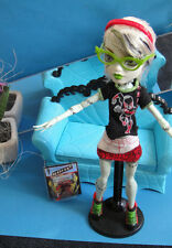 ✿● Mattel Monster High : Frankie Stein IN Ghoulia Fashion Deadfast Comic Book Cl