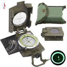 Neu Armee BW Marschkompass Bundeswehr Militär Kompass Taschenkompass mit Lupe