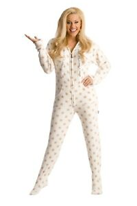 GOLD STARS FOOTED ONE PIECE PAJAMAS - SUPER SOFT CHENILE MATERIAL