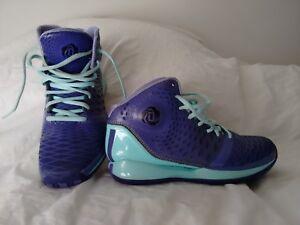 Adidas Englewood Purple & Turquoise Women's Sz 6