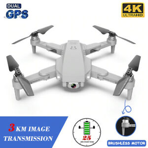 Fly 25minute 3KM Gimbal 4K Camera Wifi GPS RC Drone Quadcopter Gift Helicopter