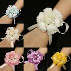 Wrist Bridesmaid Bridal Corsage Hand Ribbon Flowers Wedding Supplies Party Decor