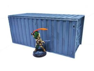 Warhammer 40k Shipping Cargo Container Scatter Terrain Wargaming