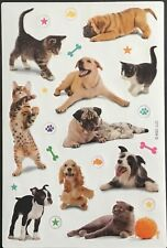 Vintage Stickers - American Greetings - Cats & Dogs - Adorable!!