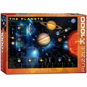 Eurographics Puzzles 1000 Piece Jigsaw Puzzle - The Planets EG60001009