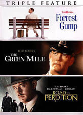 FORREST GUMP / GREEN MILE / ROAD TO PERDITION rare (3 disc) dvd Set TOM HANKS