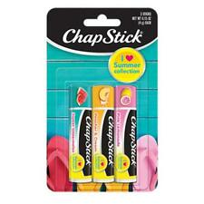 ChapStick I Love Summer Collection Flavored Lip Balm , 0.15 oz, 3 ct