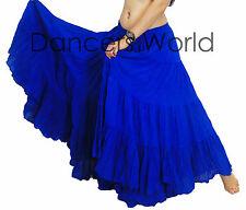 """R. Azul American Tribal Gypsy 25 yardas yarda danza del vientre falda de algodón L36/37"""""""