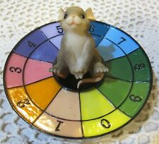 Charming Tails Figurine Let'S Play Roulette Wheel Fitz & Floyd 97/36 Member Excl