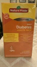 Nature Made Daily DIABETIC Health Pack 60 Packets exp 11/20
