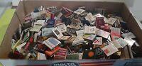 Lot of 370 Vintage Matchbook Assorted Covers Hotels, Banks, Restaurants, Drinks