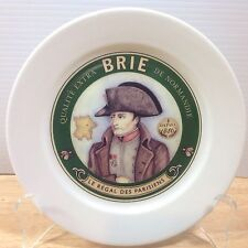 Restoration Hardware Cheese Appetizer Plate BRIE Normandie 1886 French Fromage