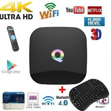 Q-BOX 2GB/16GB & Mini Keyboard  S905X Quad Core 4K UHD Android 6.0 WIFI TV Box