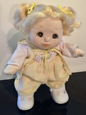 BEAUTIFUL MY CHILD DOLL ~BLONDE HAIR~ BROWN EYES~ ORIGINAL OUTFIT~EUC