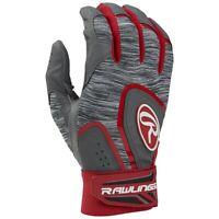 Rawlings Adult 5150 Baseball Batting Gloves - Scarlet (NEW) Lists @ $22