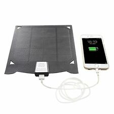 5W Solar Panel Power Bank Pack USB Outdoor Travel Charger for Cell Phone PDA GPS