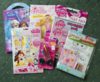 Girls Activity Set - Stickers, Pens & Activity Fun Pack - New