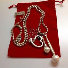 """NWT Uno de 50 Necklace """"Tea in Istanbul""""  38"""" w/ Pendants $219"""