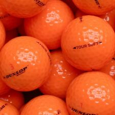 50 Dunlop Tour Soft Orange Golfbälle * NEU & ohne Logos * keine Lakeballs *
