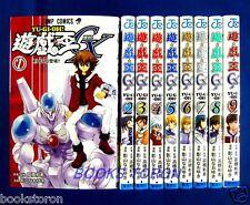 Yu-gi-oh! GX w/card 1-9 Comic Complete set Kazuki Takahashi /Japanese Manga Book