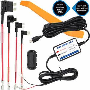 12V 24V DVR Driver Box Hard Wire Kit Mini USB Charger For Car Dash Cam Cameras