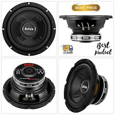 Car Subwoofer 600 Watts 8 Inch Audio Single 4 Ohm Voice Coil Easy Mounting
