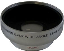 Wide Angle HD Lens 0.43x 43mm for Canon HFM52 HFM50 HFM500 HFM40 HFM41 M52 M500