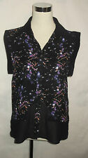 BNWT LADIES *M & S* LIMITED EDITION SHEER BLOUSE/TOP SIZE 8.