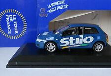 FIAT STILO 2 PORTE LE TOUR DE FRANCE Blue 2002 Norev 1/43 Diecast ottime condizioni