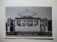 SWE05 - 1947 JONKOPING CITY TRAMWAYS - TRAM No13 PHOTO  Sweden
