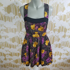 Anthropologie Size 4 Twinkle by Wenlan Sleeveless Strappy Racerback Lined Dress