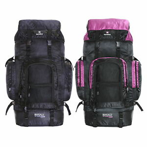 Extra Large XL 120L Backpack Rucksack Travel Hiking Camping Festival Luggage Bag