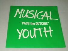 Musical Youth:  Pass the Dutchie   1982  UK    7""