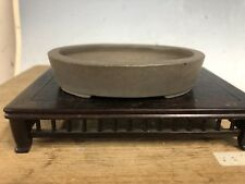 "Shohin Or Mame Size Bonsai Tree Pot Made By Hokido 4 1/4"""