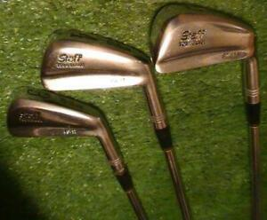 Wilson Staff Tour Blades FG-17 Irons 3,4,5,6,7,8,9,PW RH Reg. Flex Steel Shafts