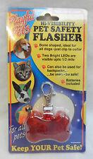 High Visibility LED Pet / Child Safety Flasher / Backpack Flasher - BNIB