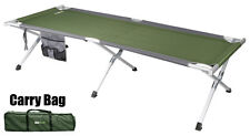 OZtrail (Large) Aluminium Stretcher Bed 190cm Portable Camping Cot Camp