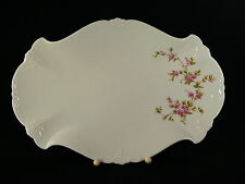 Tirschenreuth /  Hutschenreuther Baronesse Kirschblüte Servierplatte 33,5  cm