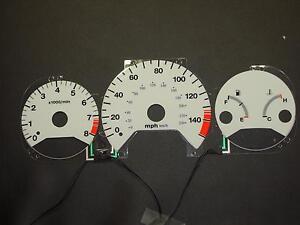 PerFormax Glow Dash Gauge Face 1998-99 Honda Accord Manual Trans EL9899AM