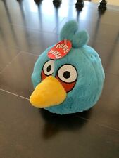 """New Angry Birds Blue Bird Plush Small 5"""" Stuffed Animal Commonwealth With Sound"""