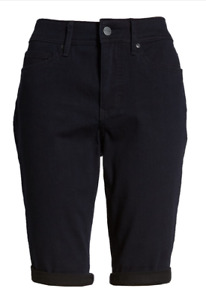 NYDJ CURVES 360 Denim Bermuda Shorts BOWEN NWT $79