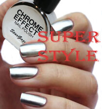 Stargazer CHROME SILVER Metallic Nail Polish Varnish