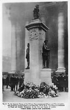 POSTCARD  LONDON     War  Memorial      RP