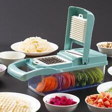 13PCS Food Slicer Dicer Nicer Container Chopper Peeler Vegetable Fruit Cutter