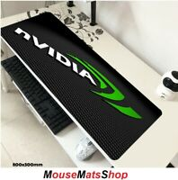 NVIDIA Extra Large Gaming Mouse Mat Pad Non-Slip f PC Laptop Office Desk 80x30cm