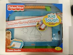 Fisher Price Kid Tough Classic Doodler 2009 Child Drawing Toy Brand New in Box