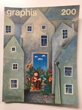 Graphis 200 Vintage International Design Advertising Illustration 1978-79 Herdeg