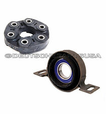 Driveshaft  FLEX DISC GUIBO + Center Support Bearing f BMW E46 325xi 330xi SET 2