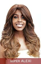 Vanessa Hair Synthetic Heat Wave Wig - Super Alexi  Color Cookie